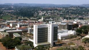 Vue générale de Kampala, la capitale de l'Ouganda.
