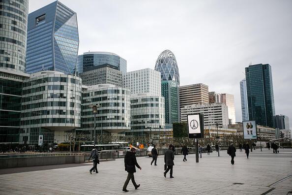 Le quartier d'affaires de la City à Londres.