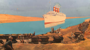 """Ilustración """"Hacia los mares del sur""""."""
