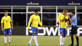 Wachezaji wa timu ya taifa ya Brazil wanaoshiriki michuano ya Copa Amerika