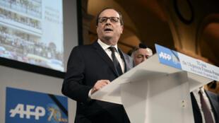 François Hollande, 20 Jan 2015