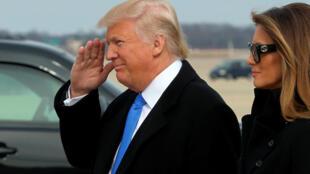 Дональд Трамп накануне инаугурации 19 января 2017
