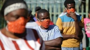 A World Health Organization analysis says coronavirus could sweep through Africa and affect more than 230 million people.