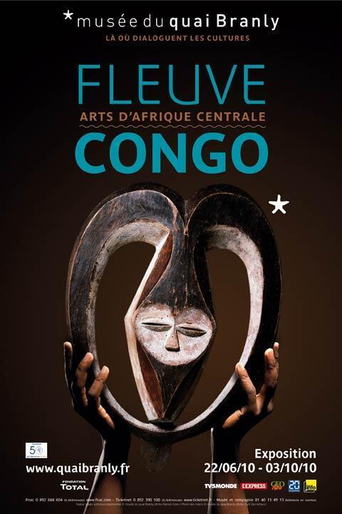 """L'exposition """"Fleuve Congo"""", du 22 juin au 3 octobre 2010 au musée du quai Branly à Paris, démontre les liens artistiques existant entre les oeuvres produites en Afrique centrale par diverses populations de langue Bantou."""