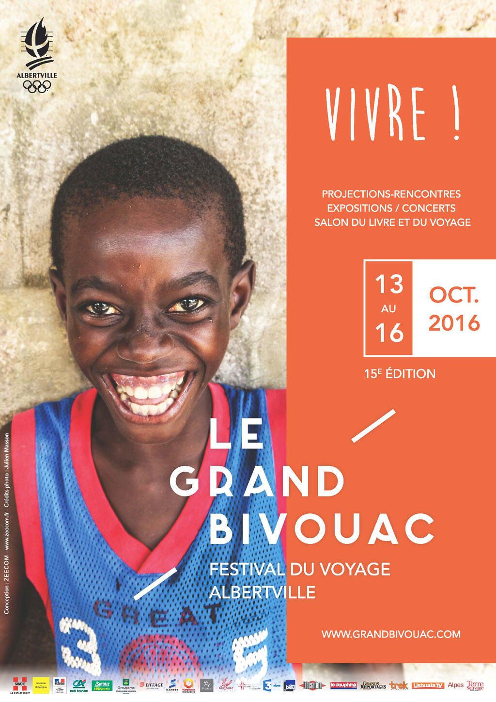 Affiche du Grand Bivouac 2016