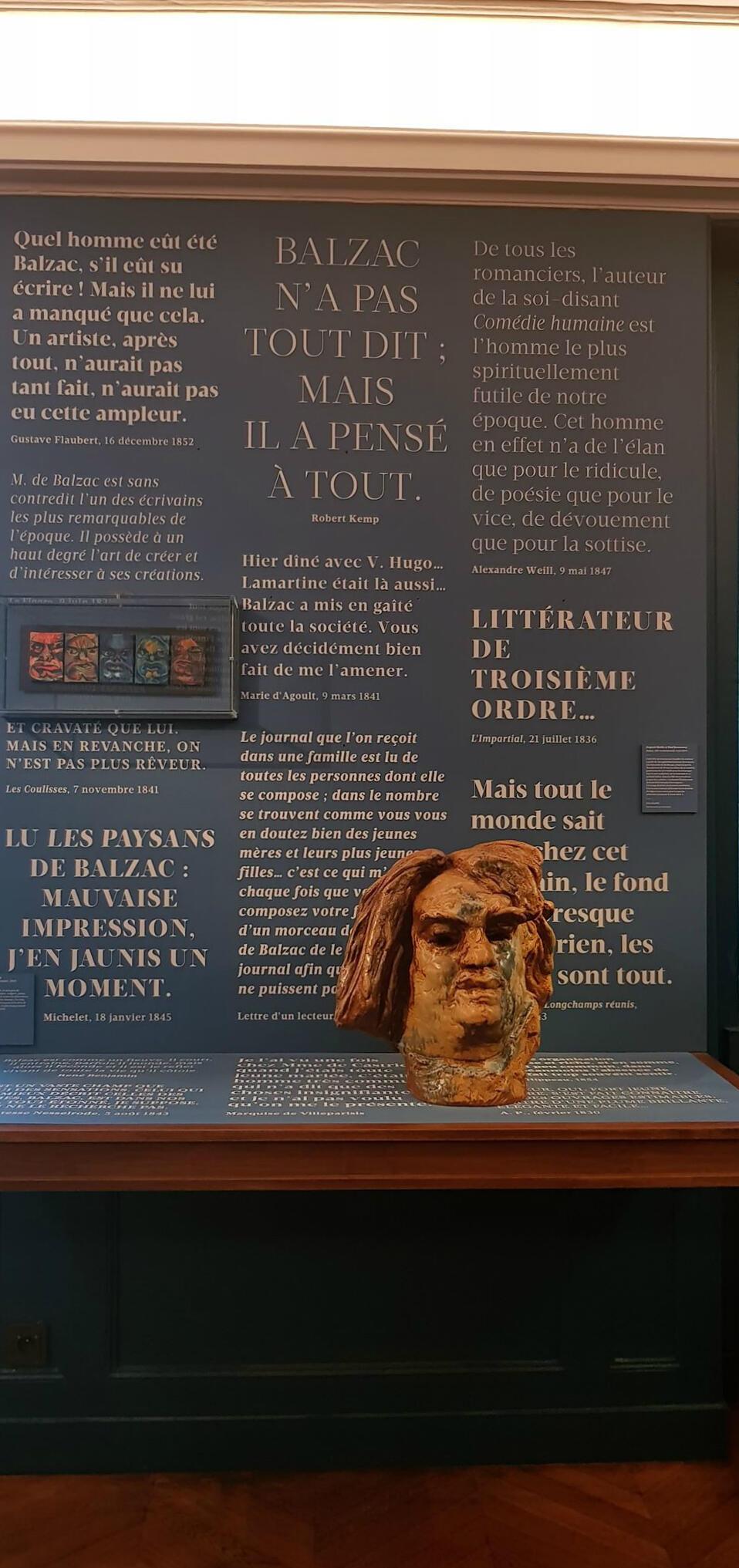 В доме-музее Бальзака