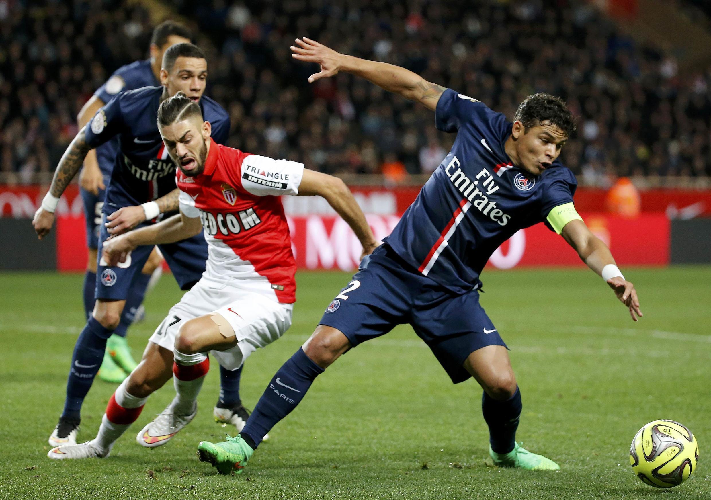 O zagueiro Thiago Silva do PSG.