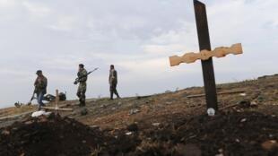'Yankin Donetsk a gabacin Ukraine da 'Ya tawaye suka mamaye