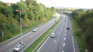 The A20 motorway