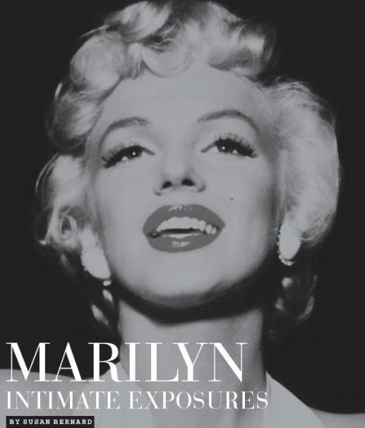 "Book cover ""Marilyn, Intimate Exposures"" by Susan Bernard"