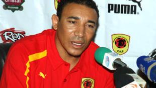 Lito Vidigal, seleccionador angolano de futebol