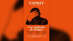 Couverture revue Esprit - épidémie de fatigue - numéro juin 2021 - Une semaine d'actualité