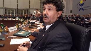 Министр иностранных дел Ливии А. Обейди. Фото 1999 г.