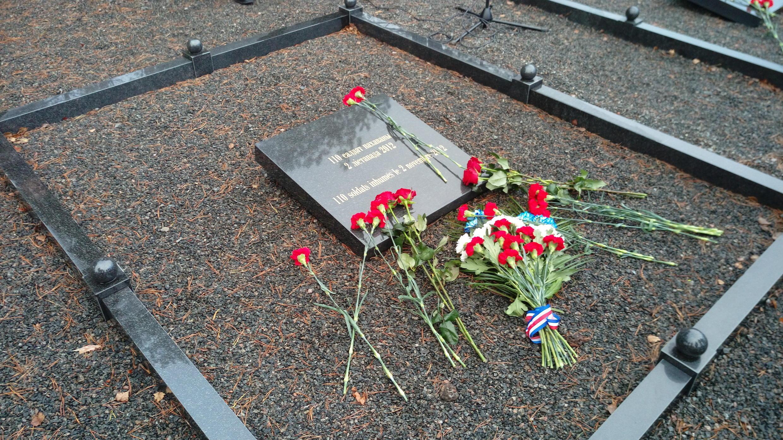 Перзахоронение 110 останков солдат Великой армии, найденных под Логойском в 2012 году