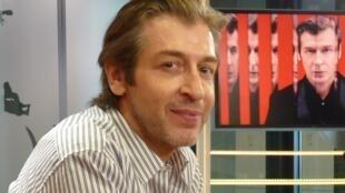 Yamil Le Parc en los estudios de RFI