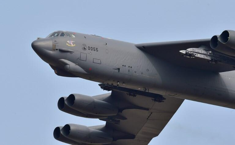 Ảnh minh họa: Oanh tạc cơ B-52 của Hoa Kỳ