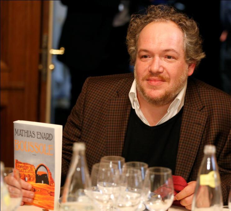 O escritor Mathias Enard.