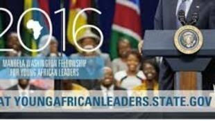 Jovens líderes africanos no programa Mandela Fellowship 2016 que arrancou nos Estados Unidos