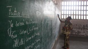Dans la salle de classe d'une école de Kinshasa (image d'illustration).