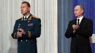 Виктор Золотов и Владимир Путин, март 2017 года.