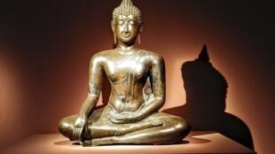"""Triển lãm """"Bouddha, la légende dorée"""" nhân 130 năm ngày thành lập Bảo tàng Guimet"""