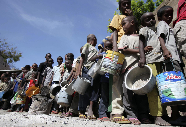 A Somália é o epicentro da crise humanitária no Chifre da Africa que atinge cerca de 12 milhões de pessoas