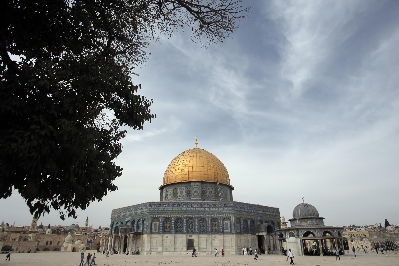 Мечеть Аль-Акса на Храмовой горе в Иерусалиме, 23 октября 2015 г.