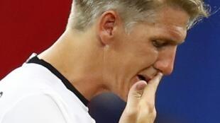 Kiungo wa klabu ya Manchester United, Bastian Schweinsteiger, ambaye sasa amerejea kwenye mazoezi ya kikosi cha kwanza cha Man U.