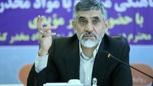 سردار علی مویدی خرم آبادی رئیس ستاد مبارزه با قاچاق کالا و ارز