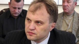 Лидер политического движения «Возрождение» Евгений Шевчук, 26 декабря 2011 года
