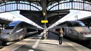 Imagem da estação Gare de l'Est, em Paris