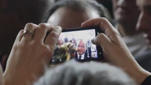 Presidente francês teve ampla exposição nos jornais na última semana.