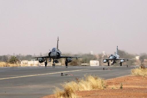 Deux chasseurs «Mirage 2000» de la force Barkhane (illustration).