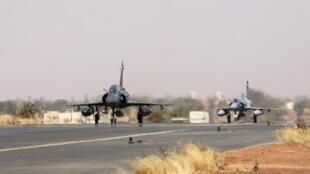 Deux chasseurs «Mirage 2000» de la force Barkhane (Image d'illustration).