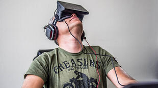 The first version of the 'Oculus Rift' is being tested