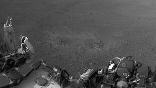 Curiosity sur Mars, photographié par lui-même.