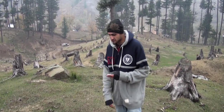 Extrait d'un clip du rappeur MC Kash.