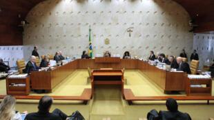 Sessão plenária do STF. 21/09/2017 - Brasilia