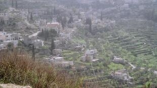 Le village de Batir en Palestine.