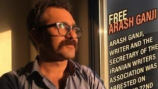 آرش گنجی، مترجم و منشی کانون نویسندگان ایران