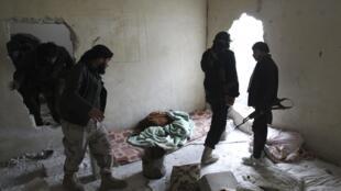 Members of Jabhat al-Nusra in Aleppo