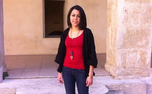 Imène Miraoui, secrétaire nationale du Mouvement des Jeunes socialistes.