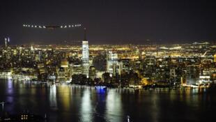 Vue aérienne de New York aux Etats-Unis.