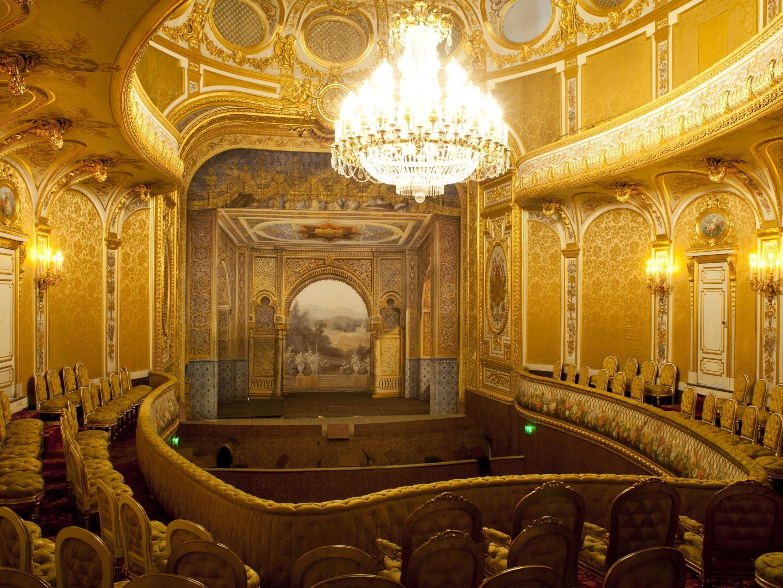 法国枫丹白露宫拿破仑三世剧院修复,2019年6月23日起对公众开放。