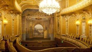 法國楓丹白露宮拿破崙三世劇院修復,2019年6月23日起對公眾開放。