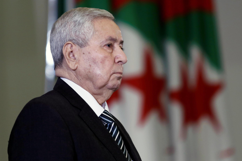 عبدالقادر بن صالح رئیس جمهوری موقت الجزایر