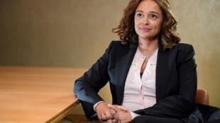 Isabel dos Santos, la fille de l'ancien président angolais à Londres le 9 janvier 2020.