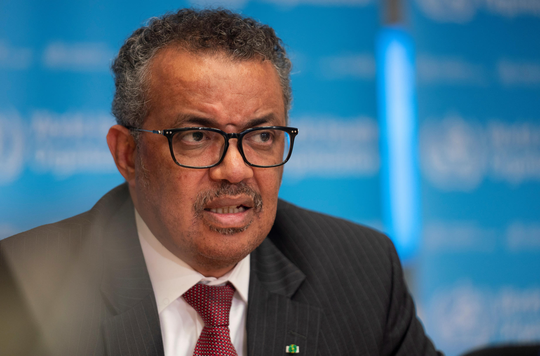 World Health Organisation Director General director-general Tedros Adhanom Ghebreyesus