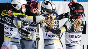 Norway celebrate striking gold
