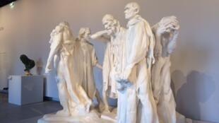 'Los burgueses de Calais', Rodin.